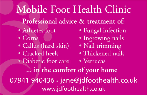 Pedicures, Manicures, Athletes foot, Corns, Callus (hard skin), Cracked heels, Diabetic foot care, Fungal infection, Ingrowing nails, Nail trimming, Thickened nails, Verrucas, Foot pain, discomfort, problems, Acrylic Nails, Gelish Nails, Nail Art